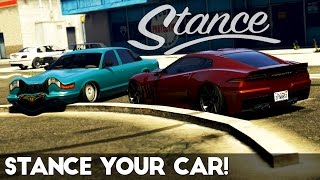 Download GTA 5 | How to Stance/Lower your Car (All Methods) Video