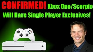 Download WOW! Phil Spencer Drops Bombs! Confirms Single Player Exclusives Will Come To Xbox One & Scorpio! Video