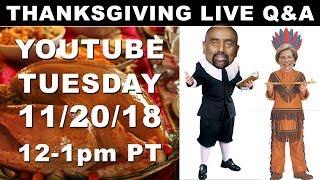 Download Pre-Thanksgiving LIVE Q&A with Jesse Lee Peterson! 12 p.m. PT / 3 p.m. ET Video