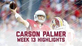 Download Carson Palmer's 300-Yard & 3 TD Day! (Week 13 Highlights) | Redskins vs. Cardinas | NFL Video