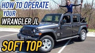 Download New 2018 Wrangler JL Soft Top Demonstration Video
