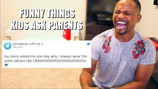 Download Funniest Things Kids Say To Parents (FUNNY TWEETS) | Alonzo Lerone Video