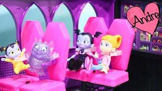 Download Vampirina va de paseo en el camper de MH | Muñecas y juguetes con Andre para niñas y niños Video
