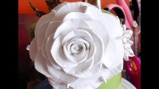 Download How to make Foam Flower, DIY, Tutorial Foam Rose #2 Video