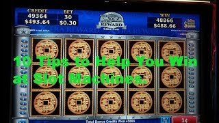 Download 10 Tips to help you win at slot machines. Video