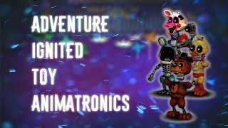 Speed Edit | FNAF ] Making Adventure Twisted Foxy Free