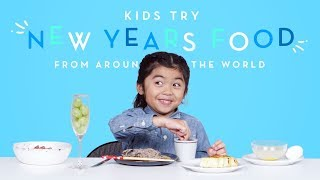 Download Kids Try New Years Food from Around the World | Kids Try | HiHo Kids Video