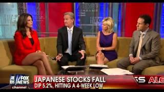 Download Nicole Petallides amazing hot legs cross - Fox & Friends - 05/30/13 Video