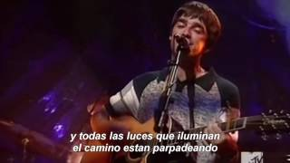 Download Oasis - Wonderwall Unplugged Español Video