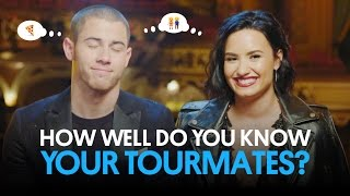 Download Demi Lovato & Nick Jonas Play 'How Well Do You Know Your Tourmate?' | Billboard Video
