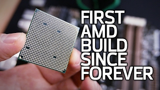 Download Building an AMD Test Bed with Random Parts from My Garage Video