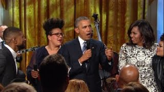 Download Watch President Obama speak - and sing - at White House tribute to Ray Charles Video