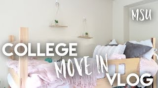 Download COLLEGE MOVE IN DAY VLOG 2018 | getting settled, target, & parties Video
