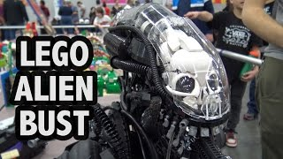 Download Amazing LEGO Alien Xenomorph | Bricks Cascade 2017 Video