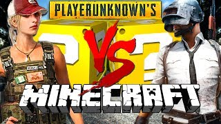 Download Minecraft: PLAYER UNKNOWN BATTLEGROUNDS LUCKY BLOCK CHALLENGE | POOR MADELYN!! Video