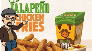 Download Burger King Jalapeño Chicken Fries - Parking Lot Review Video