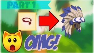 Download Necklace to Headdress Challenge! // AJ Trading Up #1 Video