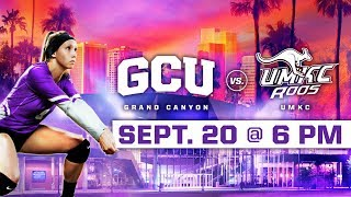 Download GCU Women's Volleyball vs. UMKC Sept 20, 2018 Video