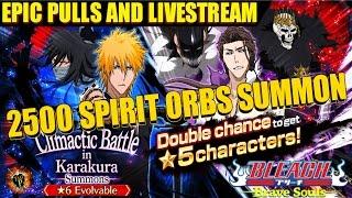 Download Bleach Brave Souls - Climactic Battle In Karakura 2500+ Spirit Orbs EPIC PULLS FULL LIVE STREAM Video