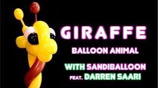 Download Giraffe ~ Balloon Animal Tutorial Video