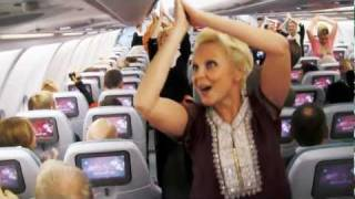 Download Surprise Dance on Finnair Flight to celebrate India's Republic Day Video