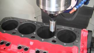 Download Combo 5-axis CNC Cylinder Head & Block Machining center: The CENTROID A560 Port/Block Video