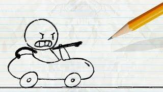 Download ″Cartastrophe″   Pencilmation Cartoons Video