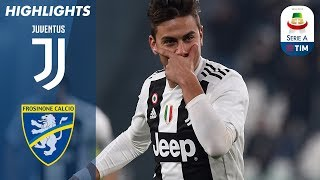 Download Juventus 3-0 Frosinone | Ronaldo and Dybala Help Juventus Beat Frosinone | Serie A Video
