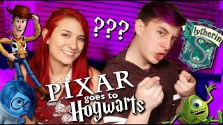 Download PIXAR CHARACTERS GO TO HOGWARTS - ft. Thomas Sanders Video