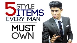 Download 5 Style Items EVERY Man MUST OWN | Style ESSENTIALS for Men | Mayank Bhattacharya Video