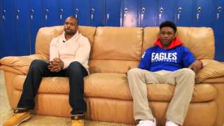 Download The court side relationship between Roy Jones Jr. & his son Video