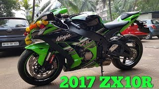 Download 2017 Kawasaki Ninja ZX10R Unboxing & Delivery   Welcome Home New Beast   Video