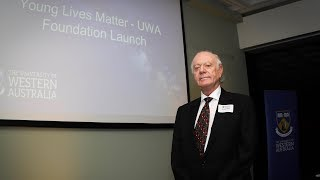 Download New foundation at UWA to help save young lives Video