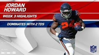 Download Jordan Howard's 138-Yard Day w/ 2 TDs! | Steelers vs. Bears | Wk 3 Player Highlights Video