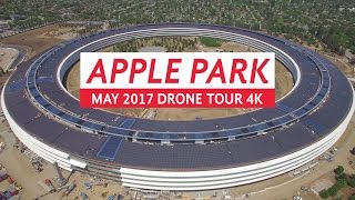 Download APPLE PARK May 2017 Drone Tour 4K Video