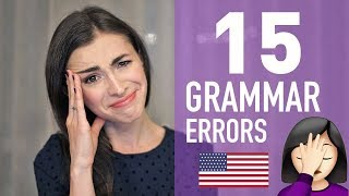 Download 15 ENGLISH GRAMMAR MISTAKES THAT DRIVE AMERICANS CRAZY Video