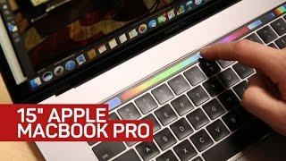 Download Apple's largest laptop adds Touch Bar support for serious design apps Video