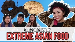 Download Singaporeans Try: Extreme Asian Food (feat. Lulu)   EP 77 Video