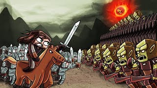 Download Minecraft | Good vs Evil - LORD OF THE RINGS BLACK GATE! (Eye of Sauron) Video