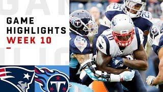 Download Patriots vs. Titans Week 10 Highlights | NFL 2018 Video
