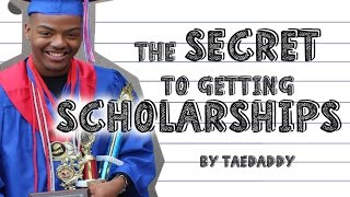 Download The Secret to Getting Scholarships! How I got a FULL RIDE! By Tarek Ali Video