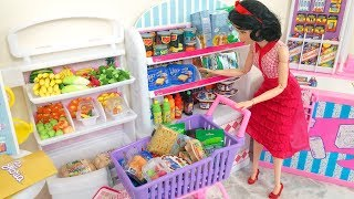 Download Frozen Elsa Disney Princess Barbie Doll Grocery Store Supermarket Toy Video