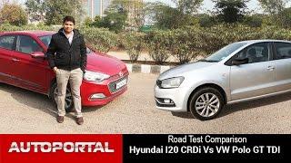 Download Volkswagen Polo Vs Hyundai Elite i20 Test Drive Comparison - Autoportal Video