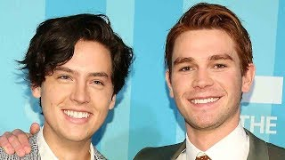 Download Cole Sprouse & KJ Apa STRIP DOWN In New 'Riverdale' Episode Video