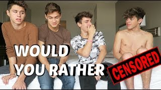 Download EXTREME WOULD YOU RATHER ft Jackson Krecioch Mikey Barone & Dylan Geick Video