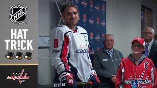 Download Alex Ovechkin collects hatty in special fashion Video