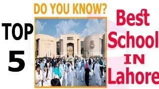 Download Top 5 Best Schools in Lahore Video