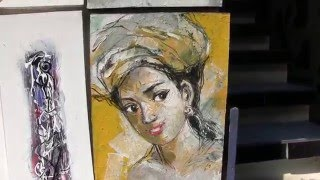 Download Bali Ubud Art Craft Market Video