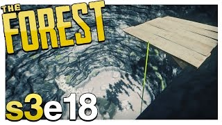 Download UPDATE! JUMPING DOWN THE SINKHOLE & CLIFF PLATFORMS! | The Forest Gameplay S3E18 (Alpha v0.36) Video