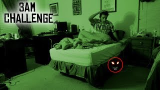 Download DO NOT RECORD YOURSELF SLEEPING AT 3 AM // 3 AM SLEEPING CHALLENGE GONE WRONG! (PARANORMAL ACTIVITY) Video